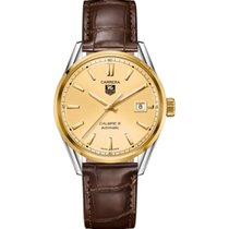 TAG Heuer Carrera Calibre 5 - Automatic Watch Champagne Dial