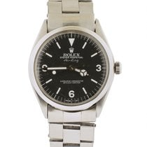 Rolex Air King with Very Rare Explorer Style dial