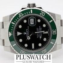 "Rolex Submariner Date ""Hulk"" 116610LV NEVER POLISHED..."