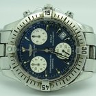 Breitling Colt A73350 Chronograph Navy Blue Dial On Steel...