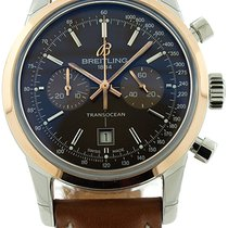 Breitling Transocean Automatic Chronograph Two-Tone Watch...