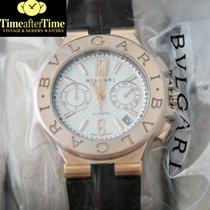 Bulgari Diagono Chronograph 40mm Rose Gold New