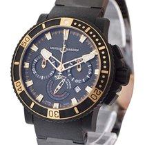 Ulysse Nardin Maxi Marine Diver Black Sea Chronograph in...