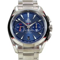 Omega Seamaster Aqua Terra GMT Chronograph 150 M 43mm Co-Axial...
