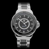 TAG Heuer Formula 1 Diamond Dial Stainless Steel Ladies...
