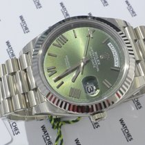 Rolex Day-Date 40MM WHITE GOLD - 228239