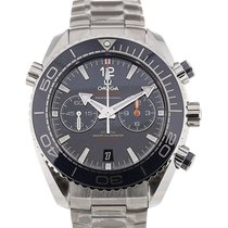 Omega Seamaster Planet Ocean 46 Chronograph Blue Dial