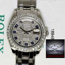 Rolex Day-Date Masterpiece Platinum & Diamond Pearlmaster...