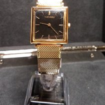 Movado Square 18K Gold