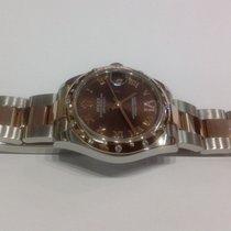 Rolex Datejust 31mm Everose Gold 24 Diamonds Bezel