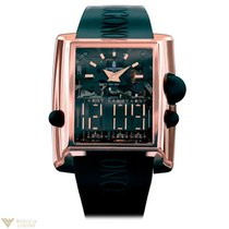 De Grisogono Meccanico DG MECCANICO 18K Rose Gold Men's Watch