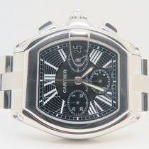 Cartier Roadster Chronograph XL Black Dial Ref. 2618 (Box&...