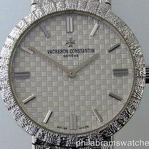 Vacheron Constantin Patrimony Vintage Ladies 18k White Gold...