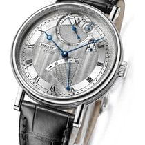 Breguet 7727BB129WU Classique 7727 in White Gold - on Black...