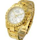 Rolex Used Yellow Gold Daytona on Bracelet 116528