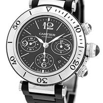 "Cartier 42mm ""Pasha Seatimer"" Chronograph."