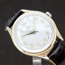 Omega Oversize White Dial - Caliber 283 Handaufzug Baujahr 1952