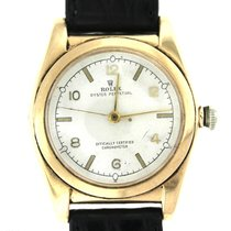 Rolex Vintage Original Ref. 3372 14k Solid Yellow Gold Bubble...