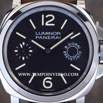 Panerai PAM 590 Luminor Marina 8 days Acciaio full set LNIB