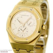 Audemars Piguet Royal Oak Dual Time Ref- BA 25730 18k Yellow...
