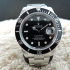 Rolex SUBMARINER 16610 Black Dial with Black Bezel
