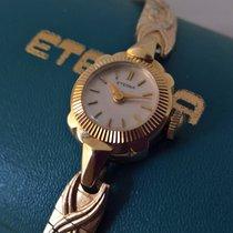 Eterna vintage 14ct solid golden serviced jubileum watch