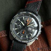 Lemania 5100 WORLD TIME AUTOMATIC SUNBRUSH FINISH 41MM 1980'S