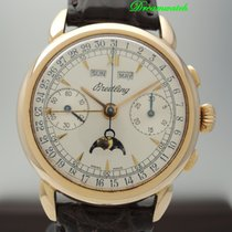 Breitling Chronograph 1939 Vintage Vollkalender / Triple Date...