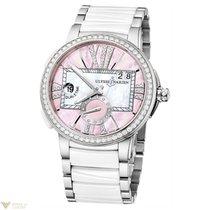 Ulysse Nardin Uylsse Nardin Executive Dual Time Pink Dial...