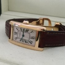 Cartier Tank Americaine Lady Yellow Gold 35 x 19 mm (Full Set)