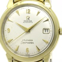 Omega Vintage Omega Seamaster Calendar Cal 502 Rice Bracelet...
