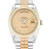 Rolex Day Date Tridor Roman Dial 18239B