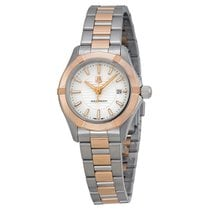 TAG Heuer Aquaracer 18kt Rose Gold Stainless Steel Ladies...
