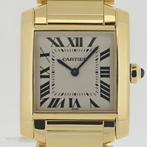 Cartier Tank Francaise 18k Gelbgold Medium