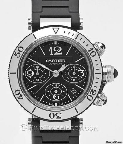 Cartier Pasha Seatimer Chronograph - W 310 88 U 2