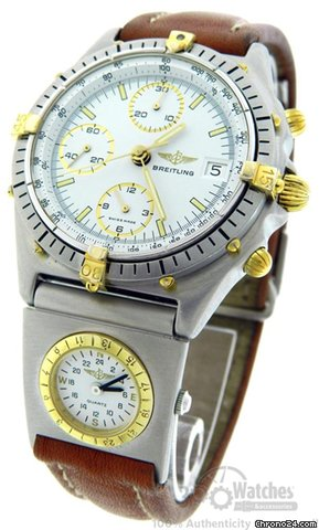 Breitling 81.950 Chronomat Two Tone Automatic Watch with UTC Module