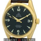 Omega Aqua Terra Railmaster 18k Yellow Gold 39mm Circa 2000...