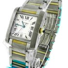 Cartier Tank Francaise 2302 XL 18k Gold & Steel Automatic...