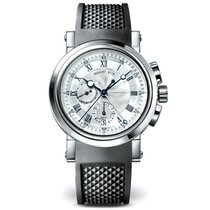 Breguet Marine Chronograph 42mm 18kt White Gold