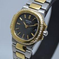 Patek Philippe Nautilus 4700/2 Gold Steel Diamonds Lady