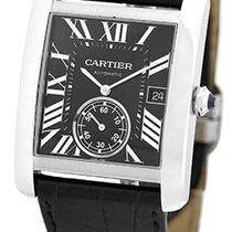 "Cartier ""Tank MC"" Automatic Strapwatch."