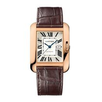 Cartier Tank Anglaise Automatic Date Ladies watch W5310005