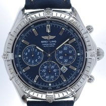 Breitling Mans Automatic Wristwatch Chronograph Shadow Flyback...
