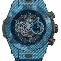 Hublot Big Bang Unico Italia Independent Blue Camo in Blue...