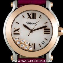 Chopard Stainless Steel & 18k Rose Gold Happy Sport...