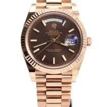 Rolex Day-date everose gold chocolate 228235