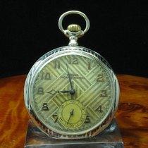 Prima Homis Watch 800 Silber Tula Silber Open Face Taschenuhr...