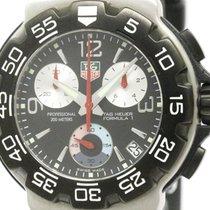 TAG Heuer Polished Tag Heuer Formula 1 Chronograph Steel...