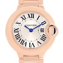Cartier Ballon Blue 18k Rose Gold Small Ladies Watch W69002z2
