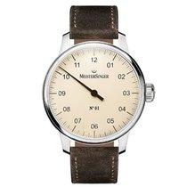 Meistersinger Uhren Herrenuhr Einzeigeruhr N01 AM3303